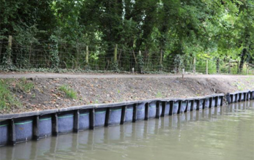 Cotswold Canal Bank Construction