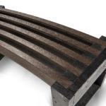 Edge Curved Bench Seat details