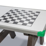 Plaswood group Hero Activity Picnic Table Top Detail