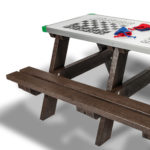 Plaswood group Hero Activity Picnic Table Detail
