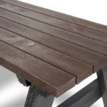 Plaswood HERO Access Recycled Plastic Picnic Table Lumber Details