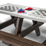 Plaswood Hero Play Activity Adult Table Detail