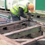 Restoration of Cotswold Canal lock gates