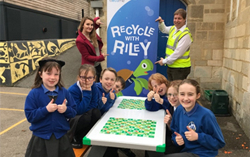 1st Recycled Plastic Challenge Completed