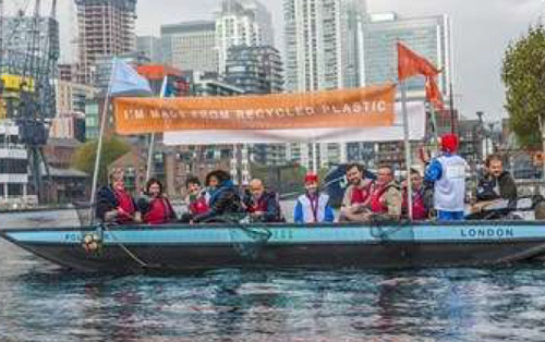 World's First 99% Recycled Boat