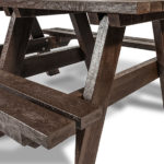 Plaswood Hero a Frame Table Adult Detail 3m