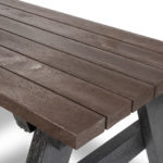 Plaswood hero junior picnic table detail