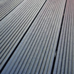 Plaswood recycled plastic decking Detail