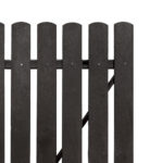 Plaswood Recycled Plastic Single Gates Detail