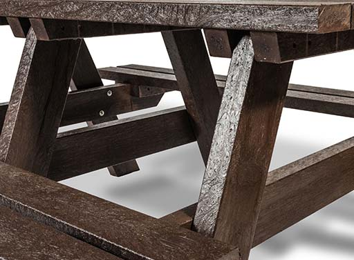 plaswood hero a frame table adult detail