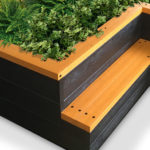 Plaswood group raised bed seat detail