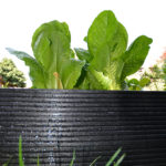 Plaswood group recycled plastic raised bed detail
