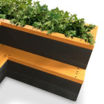 Plaswood group raised bed seat details