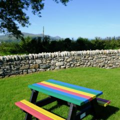 Plaswood recycled plastic bench colour