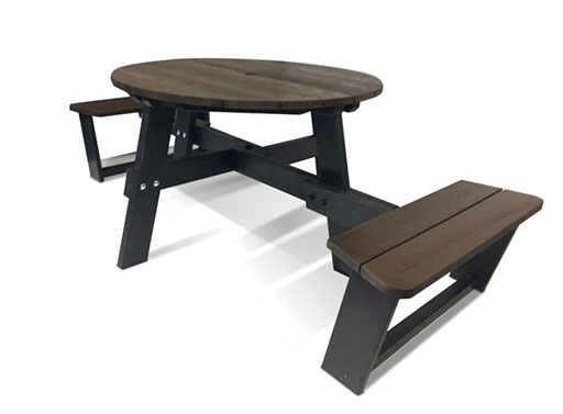 Plaswood Social Distancing Picnic Table