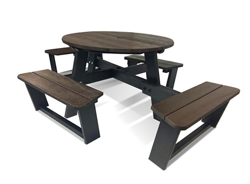 Social Distancing Picnic Tables