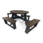 Plaswood Adapt Social Distancing Table