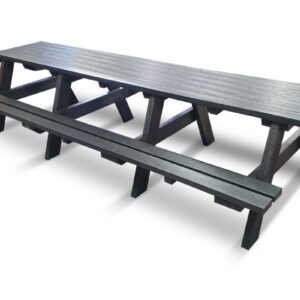 Recycled Plastic Benches Ideal For Social Distancing