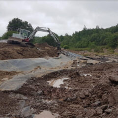 Plaswood Restoration Project River Keekle phase two