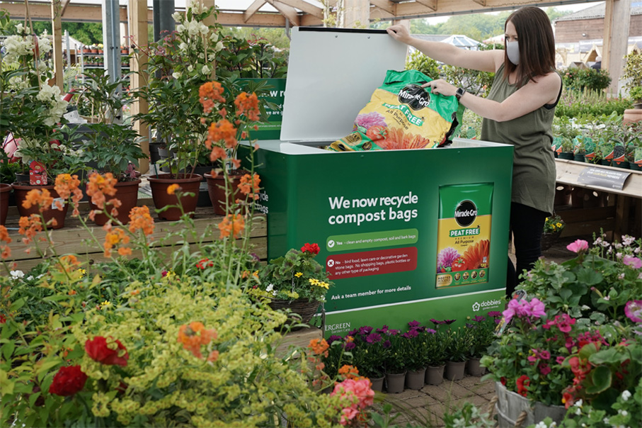 Compost Bags To Recycled Furniture