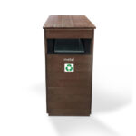 Litter Bin Made From Recycled Material